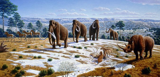 800px-Ice_age_fauna_of_northern_Spain_-_Mauricio_Antón